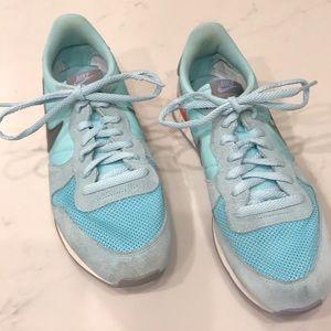 Nike Internationalist Sneaker Blue/Orange Size 10
